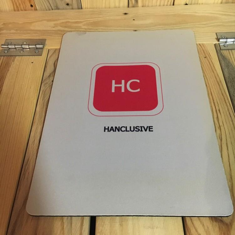 HanClusive - promotiemateriaal bedrukken - Hanne Jacobs