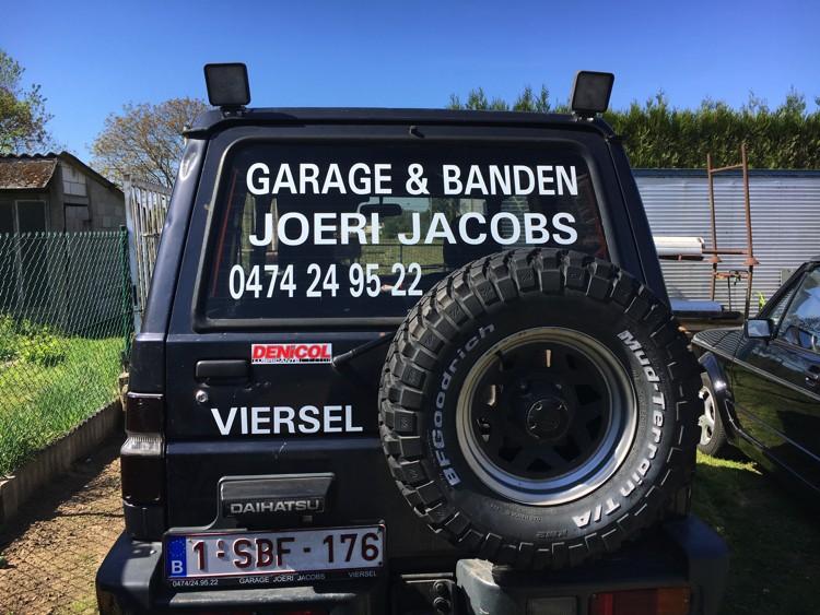 HanClusive - wagen bestickeren - Hanne Jacobs